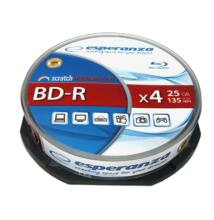 ESPERANZA BD-R 25GB 4X CAKE (10)