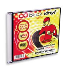 ESPERANZA CD-R 48X VINYL SLIM TOKBAN