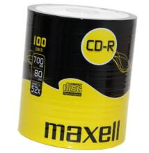 MAXELL CD-R 52X SHRINK (100)