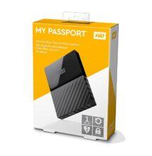 WESTERN DIGITAL MY PASSPORT USB 3.0 HDD 2,5 FEKETE 1TB