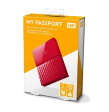 WESTERN DIGITAL MY PASSPORT USB 3.0 HDD 2,5 PIROS 1TB