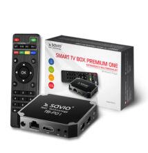 SAVIO TB-P01 PREMIUM ONE ANDROID 7.1 TV BOX 2GB RAM 16GB ROM 4K UHD MÉDIALEJÁTSZÓ