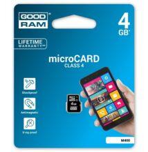 GOODRAM MICRO SDHC 4GB CLASS 4