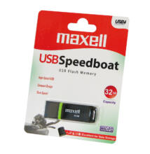 MAXELL USB 2.0 PENDRIVE SPEEDBOAT 32GB