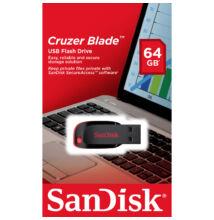 SANDISK USB 2.0 PENDRIVE CRUZER BLADE 64GB