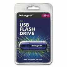 INTEGRAL USB 2.0 PENDRIVE EVO 128GB KÉK