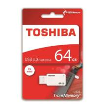 TOSHIBA U303 USB 3.0 PENDRIVE 64GB FEHÉR