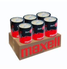 MAXELL DVD-R 16X 6 X SHRINK (100) XXLDVD CSOMAG
