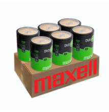 MAXELL DVD+R 16X 6 X SHRINK (100) XXLDVD CSOMAG
