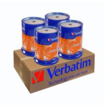 VERBATIM DVD-R 16X 4 X CAKE (100) XXLDVD CSOMAG