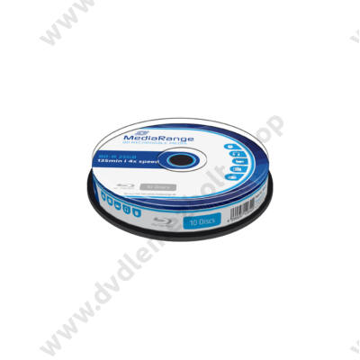MEDIARANGE BD-R 25GB 4X CAKE (10) MR495