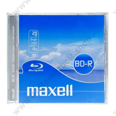 MAXELL BD-R 25GB 4X NORMÁL TOKBAN
