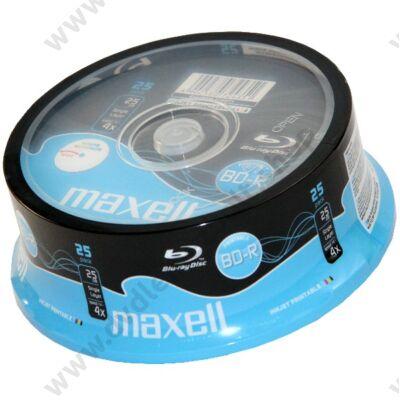 MAXELL BD-R 25GB 4X NYOMTATHATÓ CAKE (25)