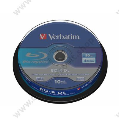 VERBATIM BD-R 50GB 6X CAKE (10)