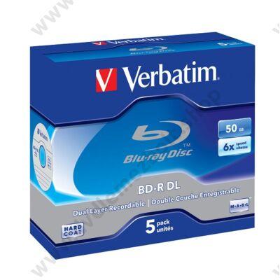 VERBATIM BD-R 50GB 6X NORMÁL TOKBAN