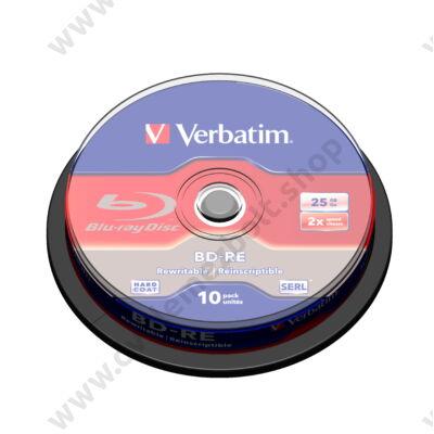 VERBATIM BD-RE 25GB 2X CAKE (10)
