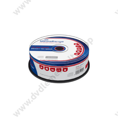 MEDIARANGE CD-RW 12X CAKE (25) MR235-25
