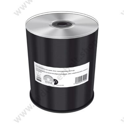 MEDIARANGE CD-R 52X BLACK SZITÁZHATÓ CAKE (100) MR285