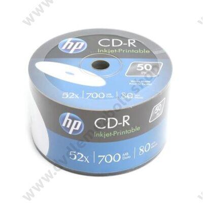 HP CD-R 52X FULL NYOMTATHATÓ SHRINK (50)