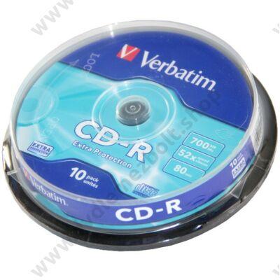 VERBATIM CD-R 52X CAKE (10)