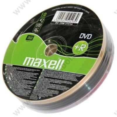 MAXELL DVD+R 16X SHRINK (10)