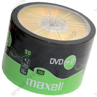 MAXELL DVD+R 16X SHRINK (50)