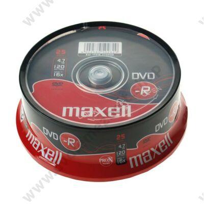 MAXELL DVD-R 16X CAKE (25)
