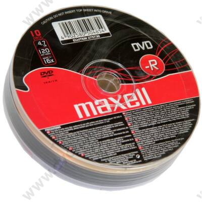 MAXELL DVD-R 16X SHRINK (10)