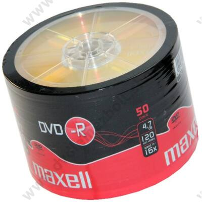 MAXELL DVD-R 16X SHRINK (50)
