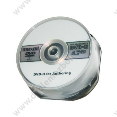 MAXELL DVD-R FOR AUTHORING CAKE (25) REPACK