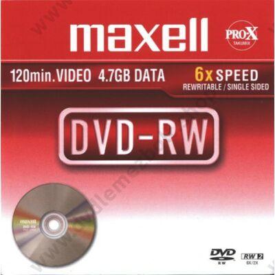 MAXELL DVD-RW 6X NORMÁL TOKBAN