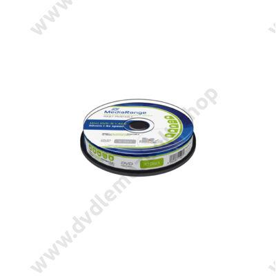 MEDIARANGE MINI DVD-R 4X 8CM 1,4GB NYOMTATHATÓ CAKE (10)