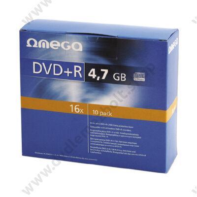 OMEGA DVD+R 16X SLIM TOKBAN (10) 56823