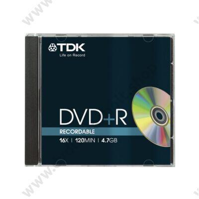 TDK DVD+R 16X NORMÁL TOKBAN