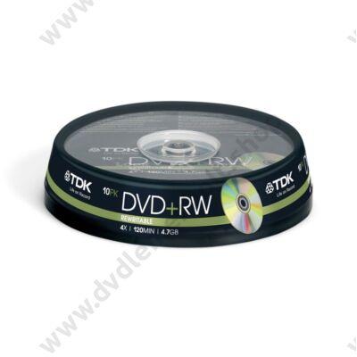 TDK DVD+RW 4X CAKE (10)