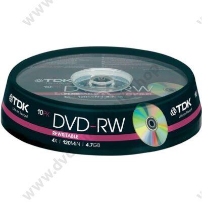 TDK DVD-RW 4X CAKE (10)