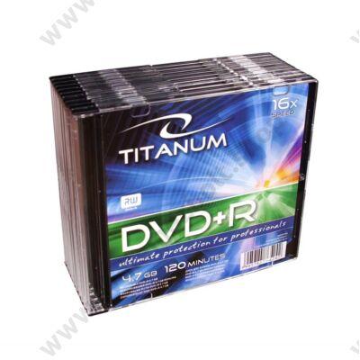TITANUM DVD+R 16X SLIM TOKBAN (10)