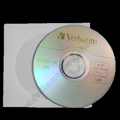 VERBATIM DVD+R 16X PAPÍRTOKBAN (10)