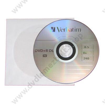 VERBATIM DVD+R 8X DL PAPÍRTOKBAN (10)