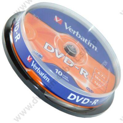 VERBATIM DVD-R 16X CAKE (10)