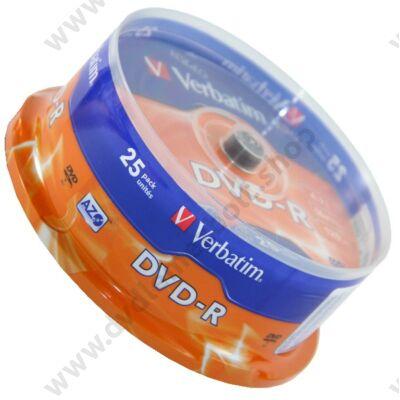 VERBATIM DVD-R 16X CAKE (25)