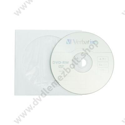 VERBATIM DVD-RW 4X PAPÍRTOKBAN (10)