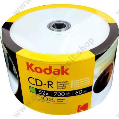 KODAK CD-R 52X FULL NYOMTATHATÓ SHRINK (50)