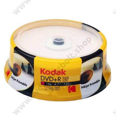 KODAK DVD+R 16X FULL NYOMTATHATÓ CAKE (25)