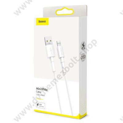 BASEUS CAMSW-E02 MICRO USB KÁBEL 4A 2m FEHÉR