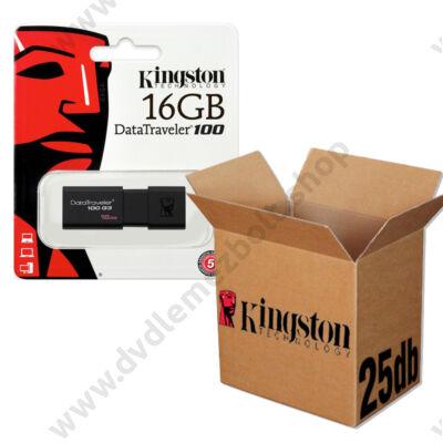 KINGSTON USB 3.0 DATATRAVELER 100 G3 16GB - 25 DB-OS CSOMAG