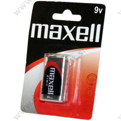 MAXELL 9V 6F22 ZINC ELEM (BLISTER)