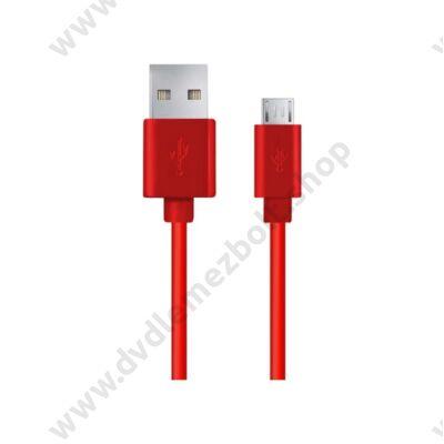 ESPERANZA EB177R MICRO USB KÁBEL 0,5m PIROS