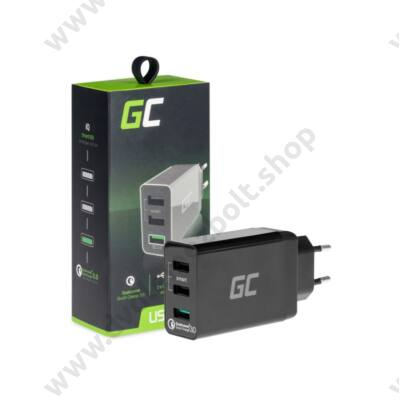 GREEN CELL CHAR03 USB TÖLTŐ 3xUSB PORT QUICK CHARGE 3.0