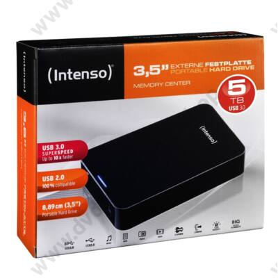 INTENSO USB 3.0 HDD 3,5 MEMORY CENTER 5TB
